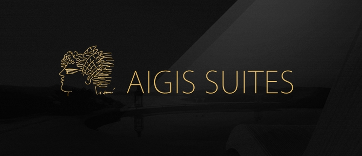 Web design for Aigis Suites