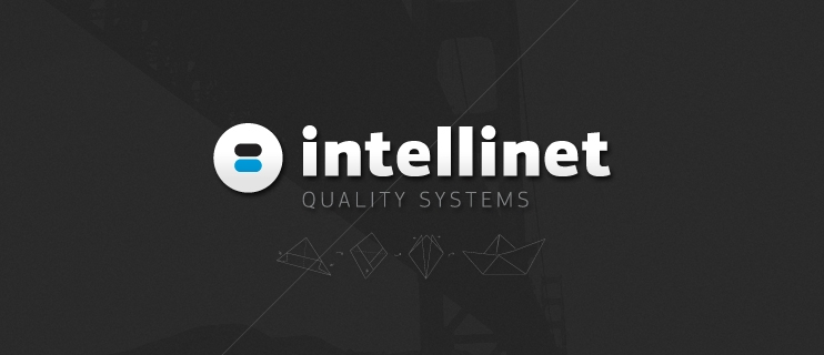 Intellinet Quality Systems Branding Logo design corporate identity