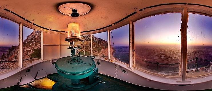 Lighthouse at Cape Malea Panorama
