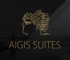 Web design for Aigis Suites